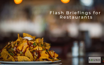Flash Briefings for Restaurants