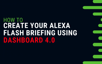 Create a New Alexa Flash Briefing Skill in SoundUp Now 4.0 Giraffe